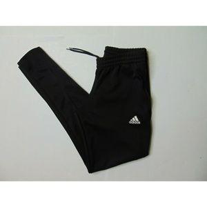 Adidas S Black Jogger Pants Athletic Drawstring